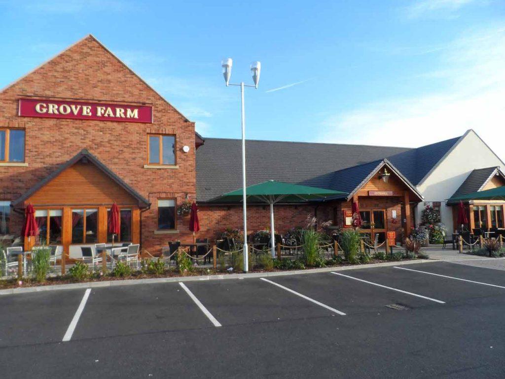 Grove park farm b jarvis roofing ltd for Grove park house